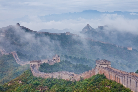 Jinshanling Great Wall of China Stock Photo - 11141635