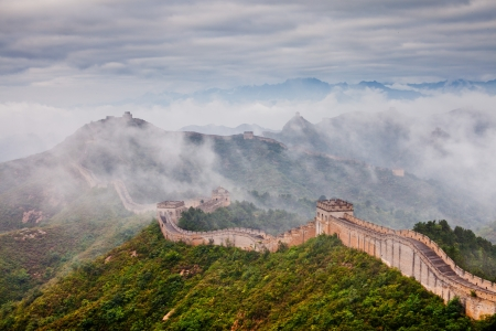 Jinshanling Great Wall of China Stock Photo - 11141638