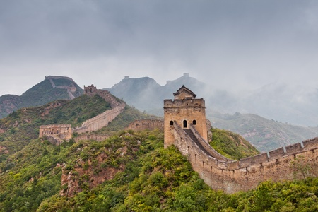 Jinshanling Great Wall of China Stock Photo - 11141640