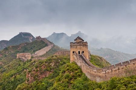 the great wall: Jinshanling Great Wall of China