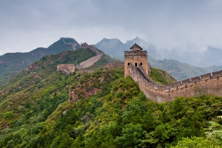 Jinshanling Great Wall of China Stock Photo - 11141643