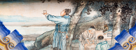 unesco world cultural heritage: Ancient painting