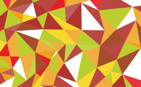 Geometric polygon background. Retro triangle background. Colorful mosaic pattern. Vector illustration. Illustration