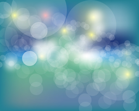 abstract bokeh background. Festive defocused lights.Vector illustration