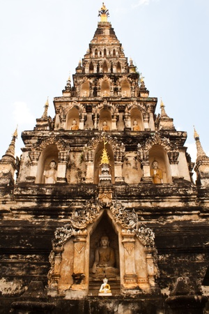 Pagoda  at Chiang Mai Thailand photo