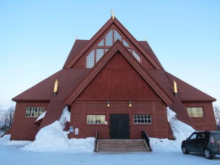 kiruna: Kiruna Church