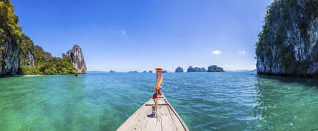 Boat trip between the islands of Krabi