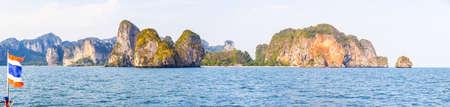 Journey between the islands of Krabi Archivio Fotografico