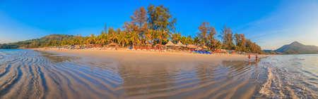 Evening atmosphere at Kamala beach