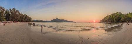 Sunset at Kamala Beach