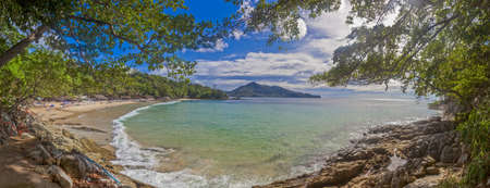 Leam Sing Beach on Phuket island