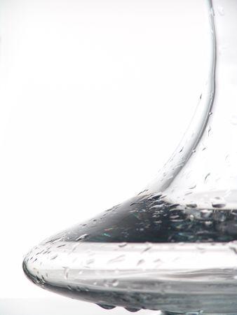 白ワインのデカンター