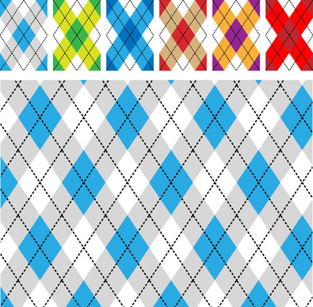 Nahtlose schottischen designs
