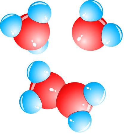 A set of molecules of different composition Vector