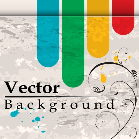 bend: Grunge background with bend