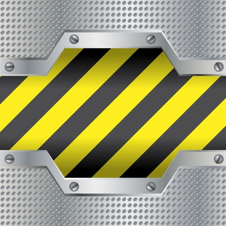 steel mesh: Background with danger colors
