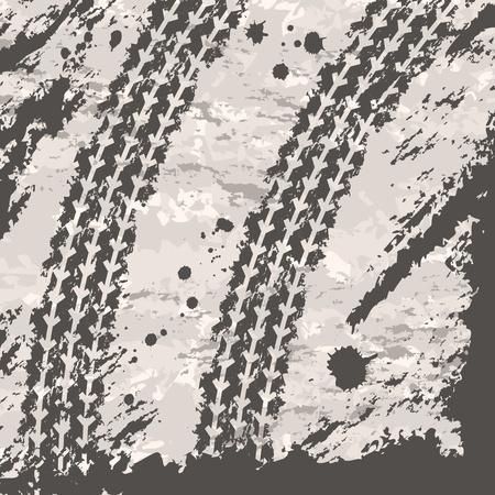 dirt texture: Sfondo di tracce di pneumatici