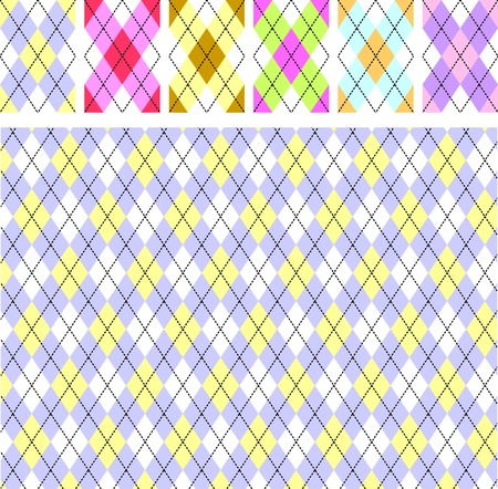 New scottish pattern Illustration