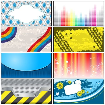 Business cards Stock Vector - 10264426