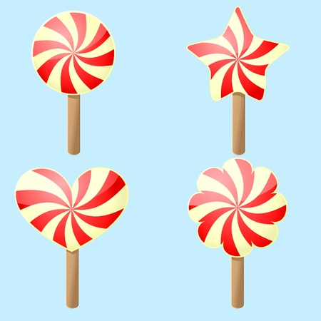 Candy form Vector