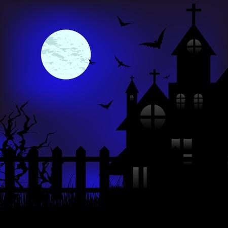 Moon night Stock Vector - 10927071