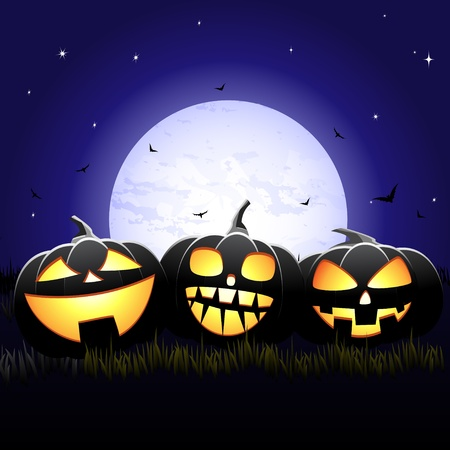 Halloween night Stock Vector - 10927062