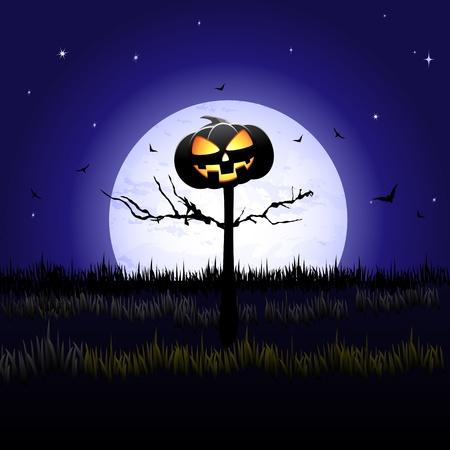 Halloween pumpkin Stock Vector - 10927067
