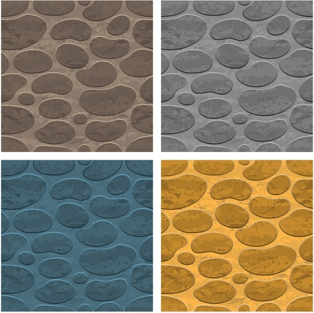 pave: Seamless stone background
