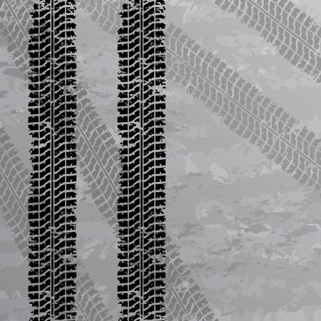 huellas de llantas: Fondo de huellas de neumáticos