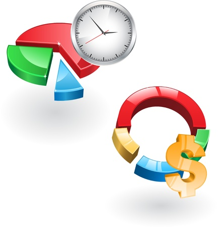time money: Glass diagrams