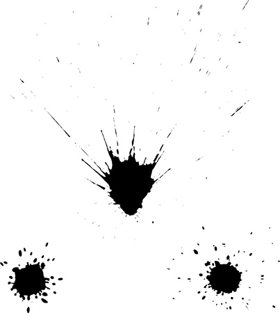 inkblot: Ink blots Illustration