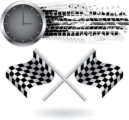 Speed background Vector