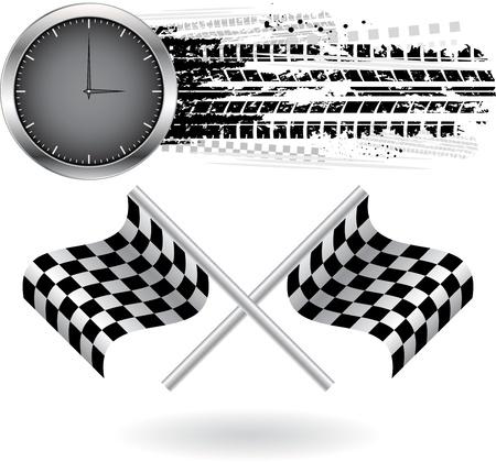 huellas de llantas: Velocidad de fondo
