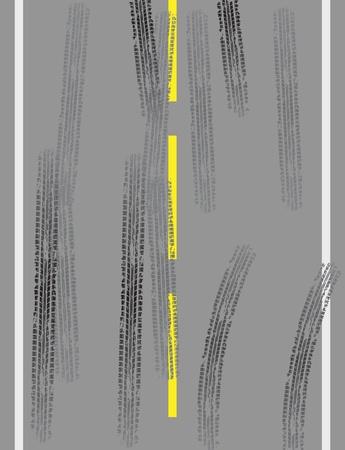 huellas de neumaticos: Carretera con huellas de los neum�ticos Vectores