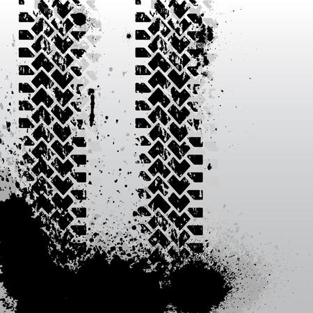 rodamiento: Tire de fondo pista