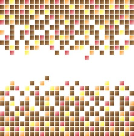 descriptive color: Mosaic