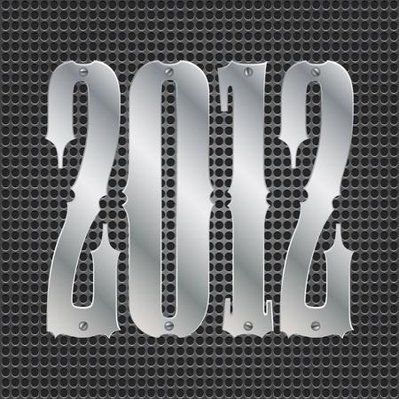 2012 background Vector