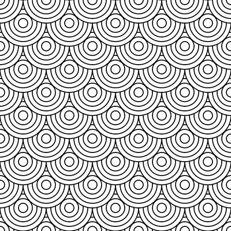 geometrical shapes: Circles background