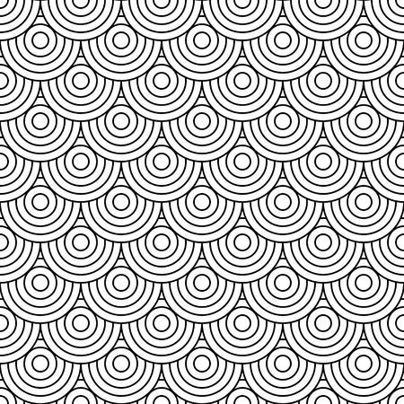 ksztaÅ't: Kręgi w tle Ilustracja