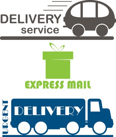 Delivery service Stock Vector - 12826167