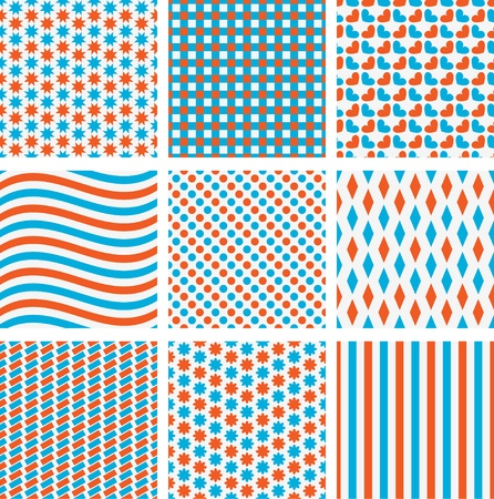 Pattern fabric Vector