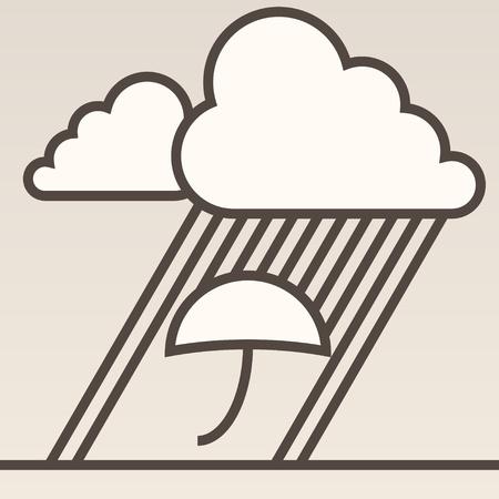 dreary: Rain background