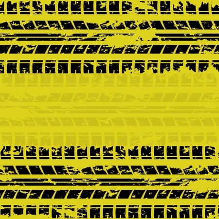 rodamiento: Neumáticos de fondo amarillo pista