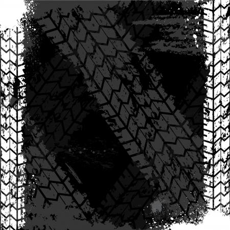 rodamiento: Neumáticos Grunge pista backgound