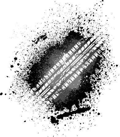 huellas de neumaticos: Tire de bienvenida pista
