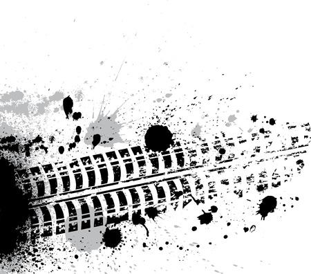 Borrones de tinta fondo Vectores