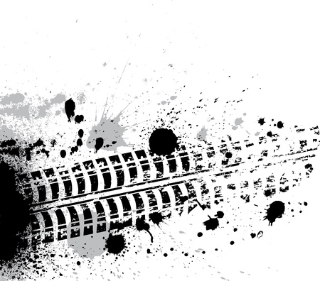 Ink Blots Hintergrund Illustration