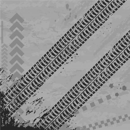 wallpapper: Tire track wallpapper