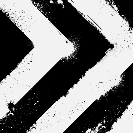 racing background: Black and white Illustration