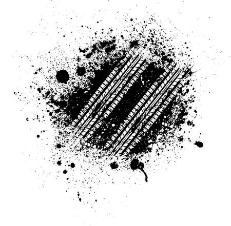 huellas de llantas: Tire splash pista